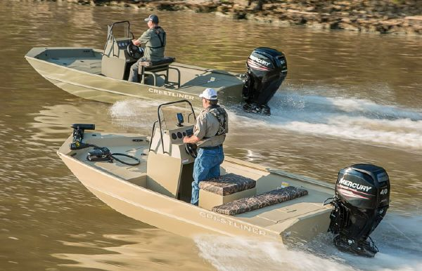 2018 Crestliner 1660 Retriever FCC