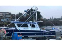 2015 Aluminum Cruiser Fishing, Dive, Charter Boat