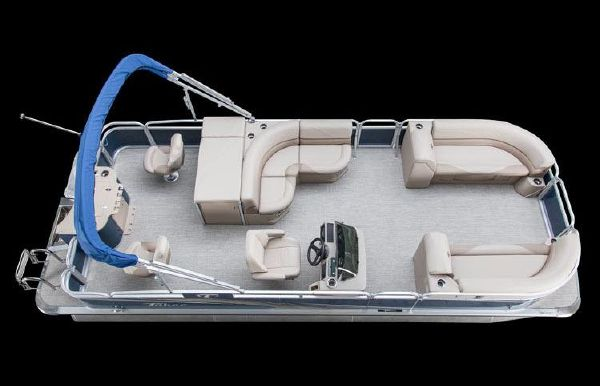 2018 Tahoe Pontoon GT Rear Fish - 23'