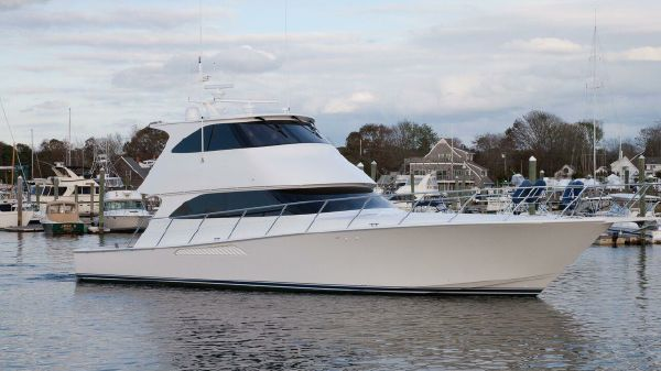 Viking 60 Convertible EB Starboard Side View