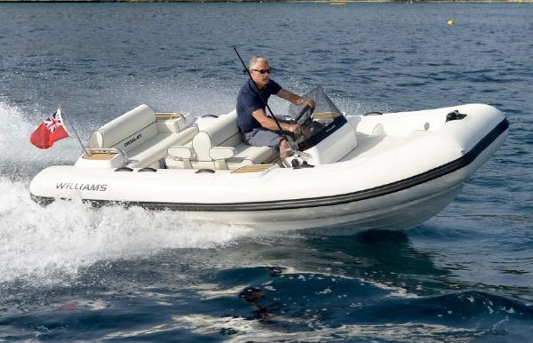 2018 Williams Jet Tenders Dieseljet 445