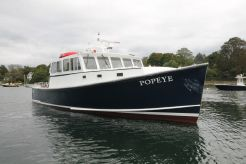 2004 H&H Marine Downeast Lobster Yacht, Willis Beal Design - Research Patrol Picnic Cruiser