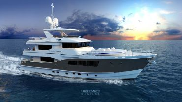 2019 All Ocean Yachts Tri Deck Explorer Yacht