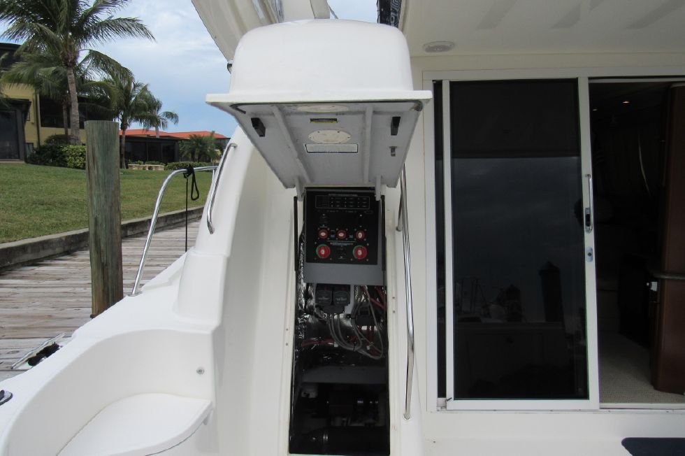 Cockpit to Engine Room