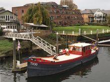 1906 Barge 19.5m Converted Dutch Shrimper