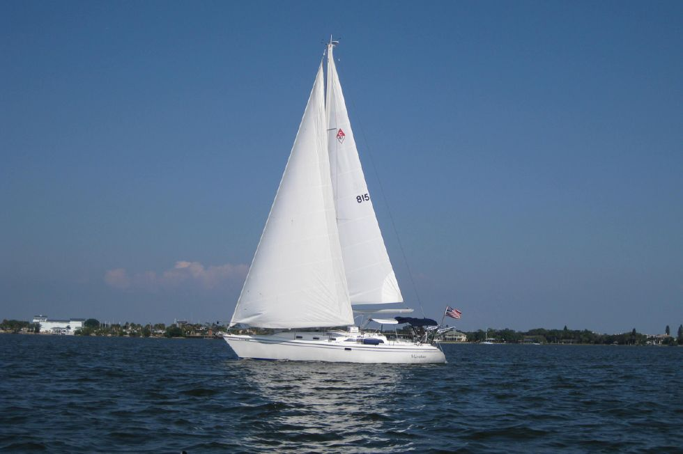 Catalina 42 Under Sail