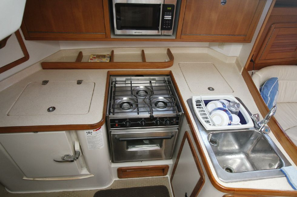 Catalina 42 Galley