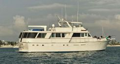 1981 Hatteras Extended Deck