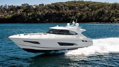 2021 Riviera 4800 Sport Yacht with IPS