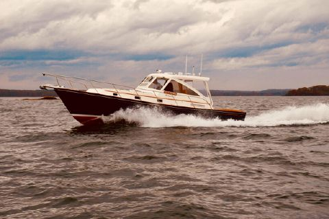 2001 Little Harbor WhisperJet 38