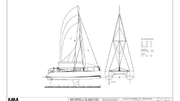MM 45 Charter Catamaran Subchapter