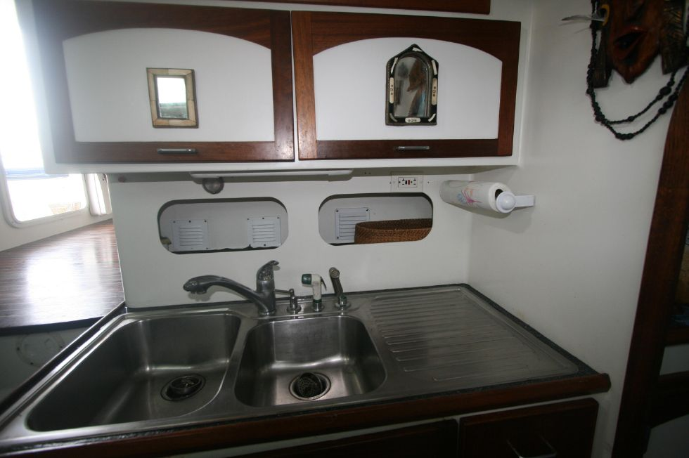 Grainger Catamaran Galley Sink