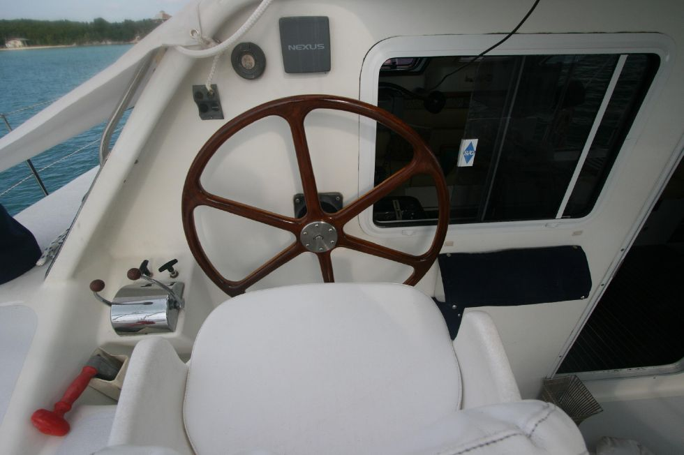 Grainger Catamaran Helm
