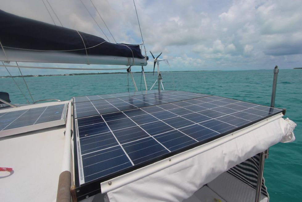 Grainger Catamaran Solar Cells