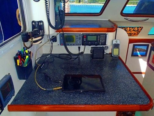 Grainger Catamaran Nav Station