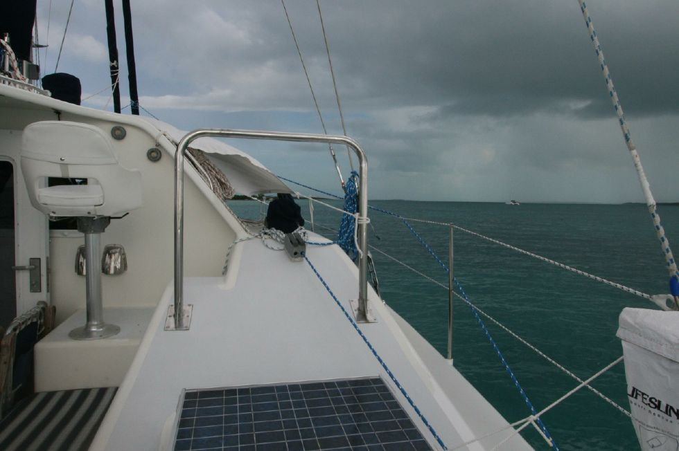 Grainger Catamaran Stbd Solar Panel Hatch