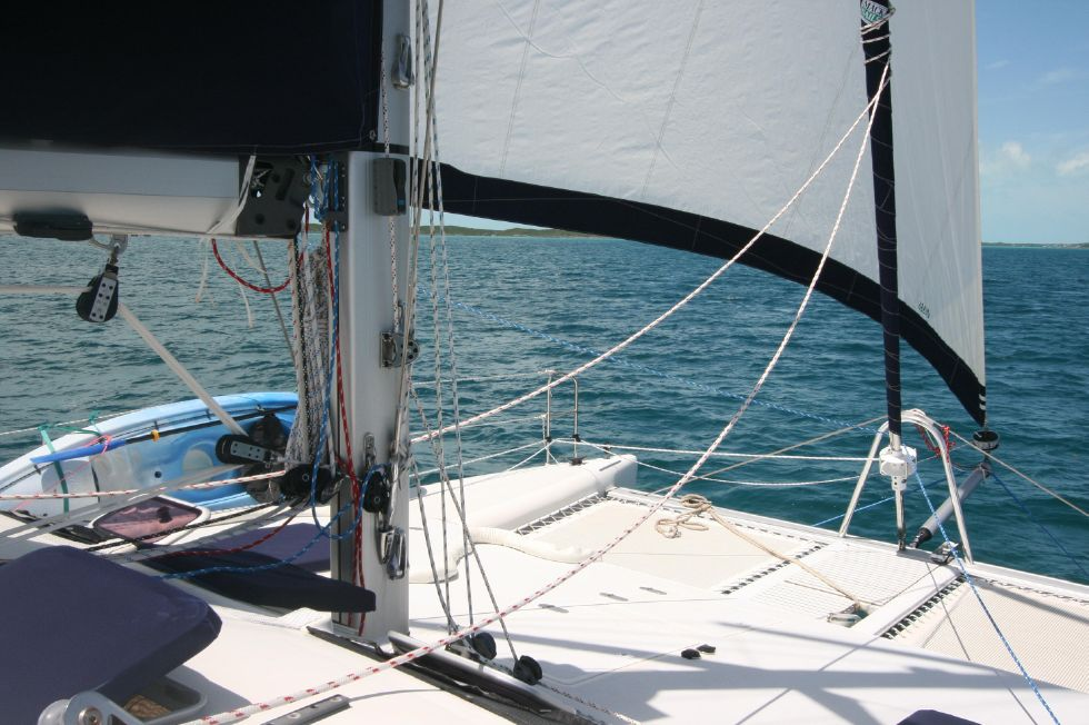 Grainger Catamaran Mast Base and Foredeck
