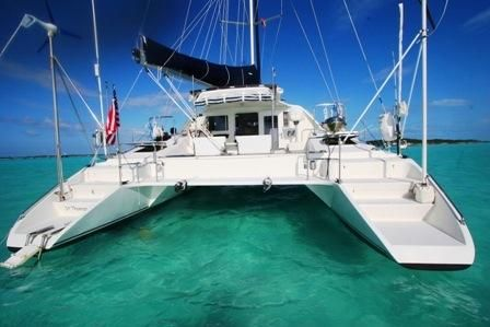 Grainger Catamaran Stern View