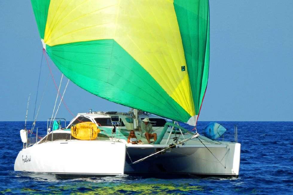 Grainger Catamaran Spinnaker