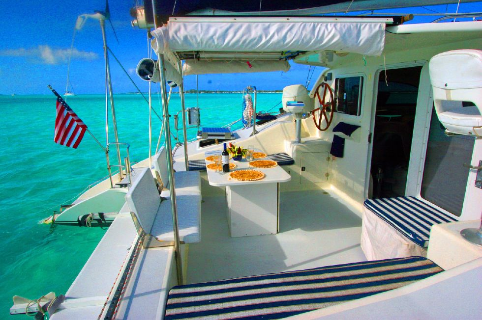 Grainger Catamaran Cockpit
