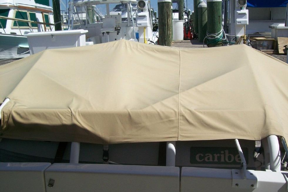 34 American Tug, Dinghy Cover
