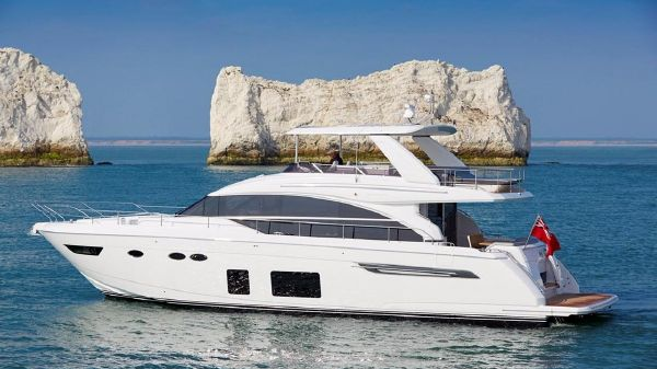 Princess Yachts 68 Motor Yacht Port Side