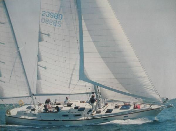 1981 Pearson 530 Edwards Yacht Sales Under Sail