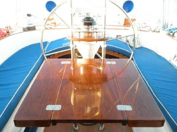 1981 Pearson 530 Edwards Yacht Sales Spacious Cockpit for Entertaining