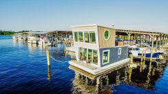 "2017 Custom ""Home AWave"" Houseboat Built by St Johns Shipyard"