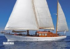 1964 Laurent Giles 72 ft Motor Sailer