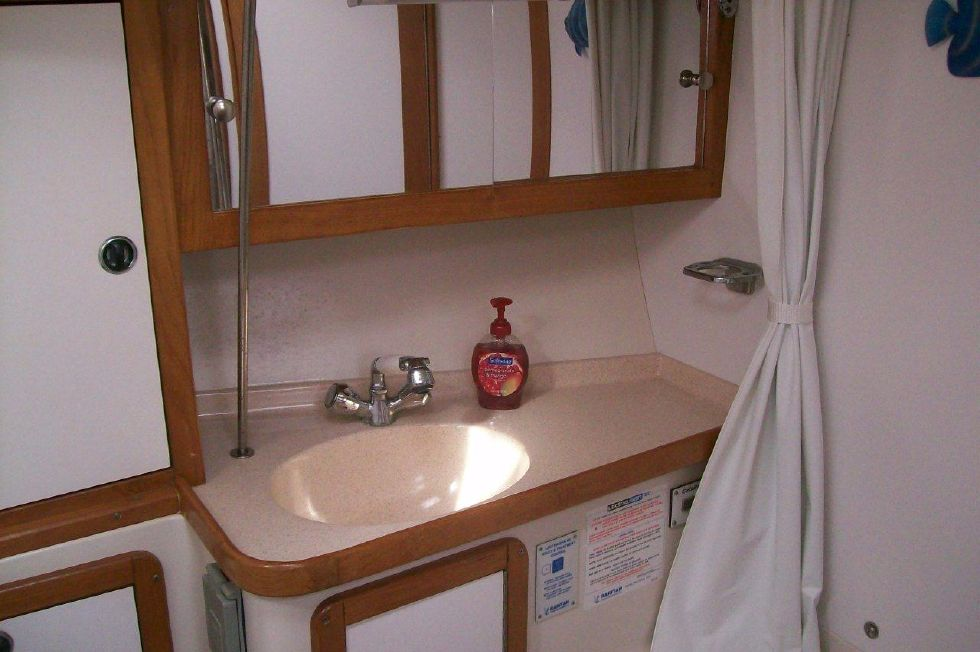 36 Catalina Sink, Vanity, and Mirror