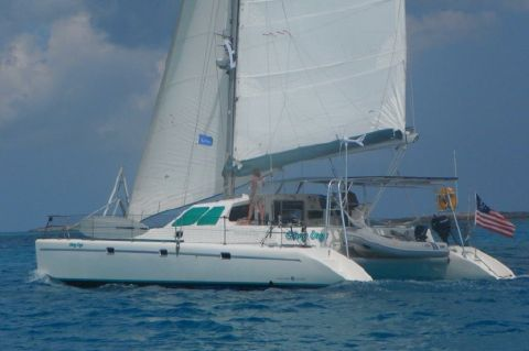 1998 Voyage Yachts 430 Owner's Version - Glory Days