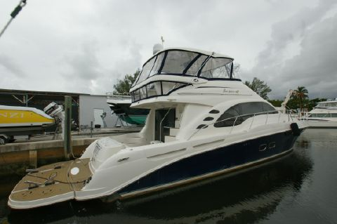 2006 Sea Ray 580 Sedan Bridge