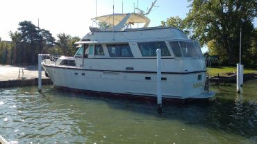 1983 Hatteras 56 Motor Yacht