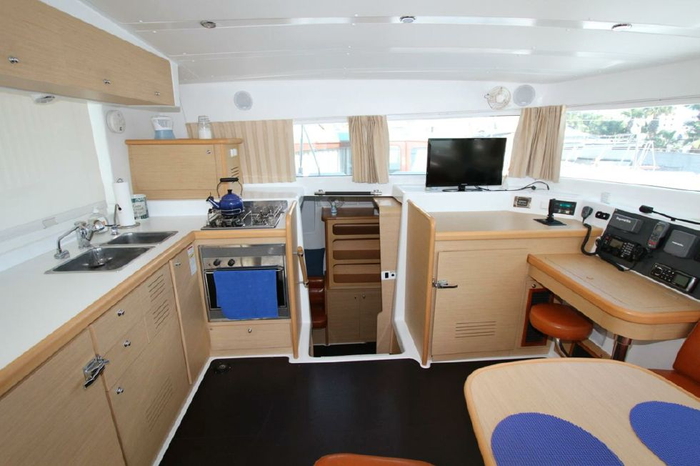 Galley and Nav Station