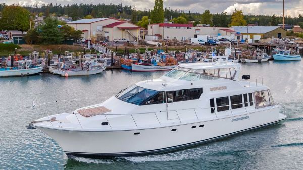 Pacific Mariner 65' LLC OWNED Port View