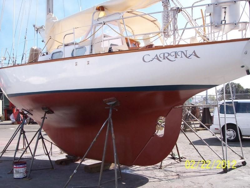 1963 Alberg Sloop - Protected prop and rudder