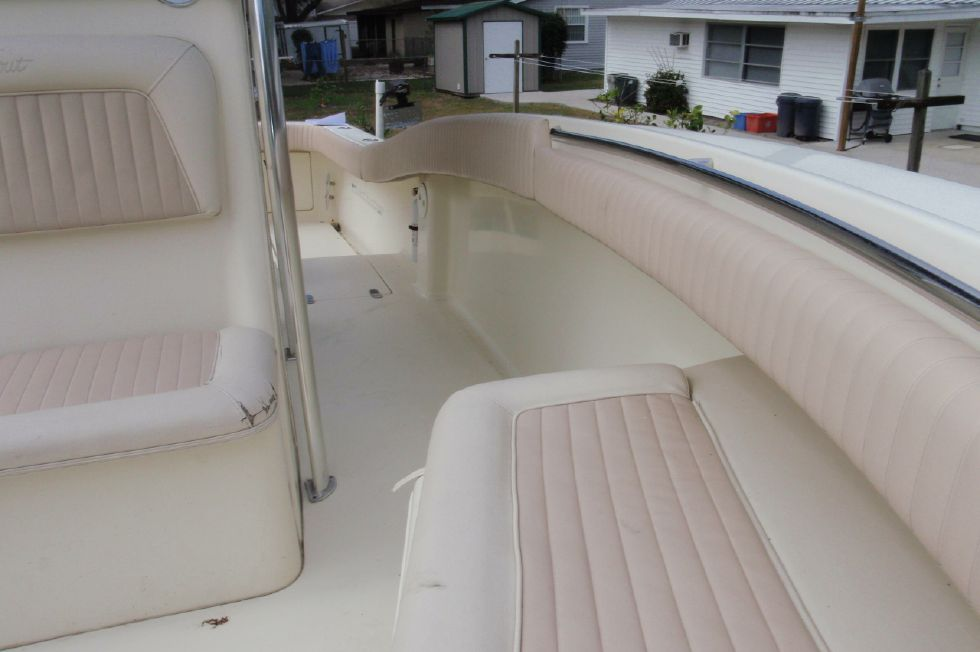 2001 Scout 280 Sportfish - Forward Looking Back Down the Port Side