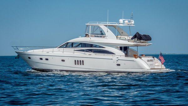 Princess 67 Flybridge Motor Yacht Port Side