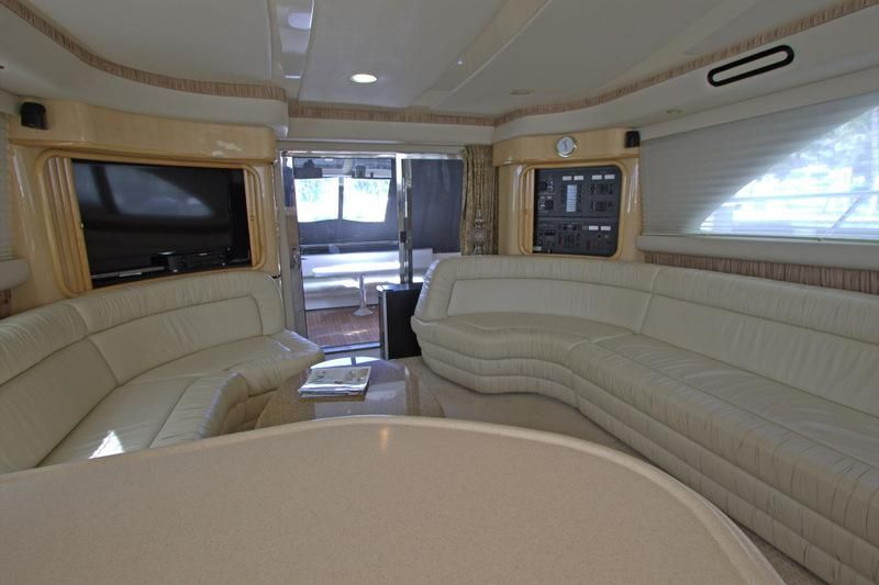 2000 Sea Ray 560 Sedan Bridge - View from Galley
