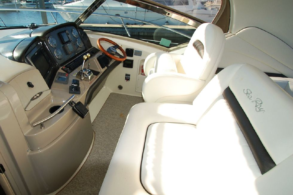 Helm Deck Seating