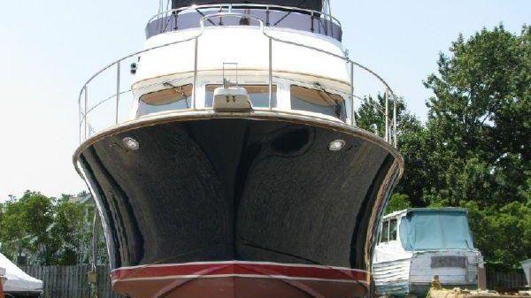Albin 40 North Sea Cutter Bow
