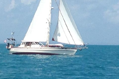 1985 Hans Christian Yachts 48T With Custom Pilothouse