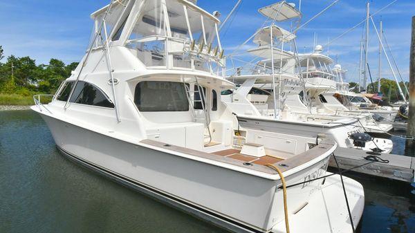 Ocean Yachts 40 Super Sport Port Side