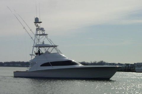 2012 F & S Boatworks 56 Sportfish - Profile