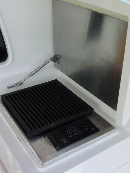 2012 F & S Boatworks 56 Sportfish - Cockpit 5 - Wolf Grill