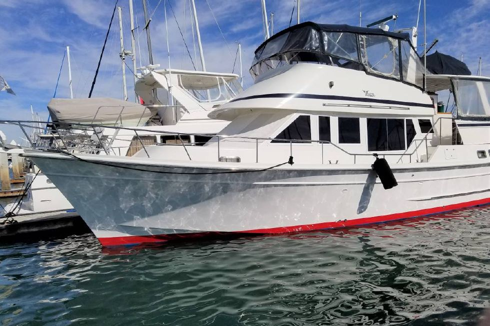 1990 Voyager Yacht Fisher