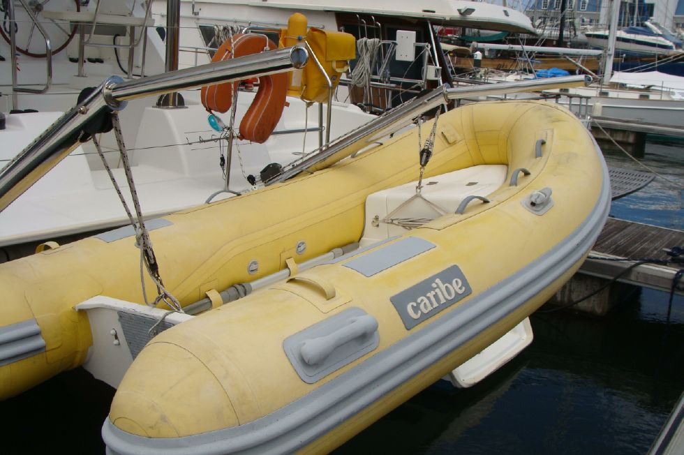 Dinghy, barely used!