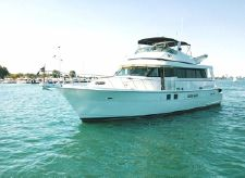 1993 Hatteras Extended Deckhouse
