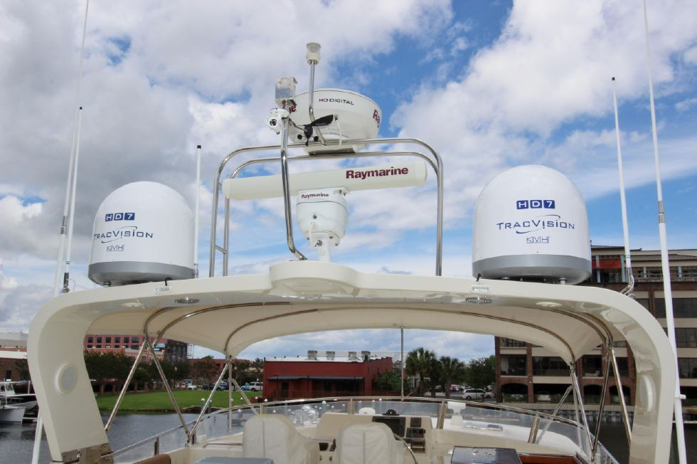 Arch Equipment and new KVH HD7 Domes